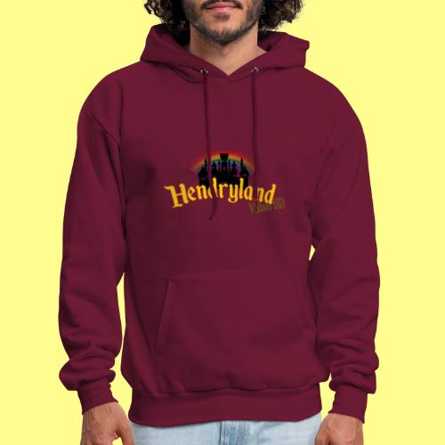 HENDRYLAND logo Merch - Men's Hoodie