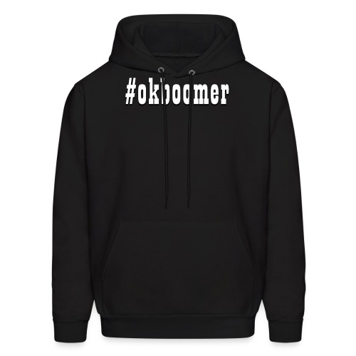 #okboomer - Men's Hoodie