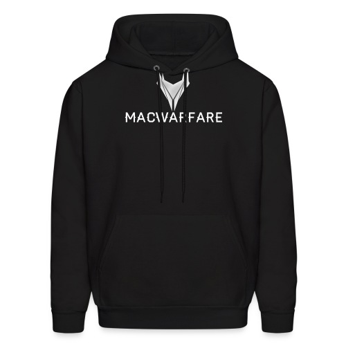 MacWarfare Channel Logo - Men's Hoodie