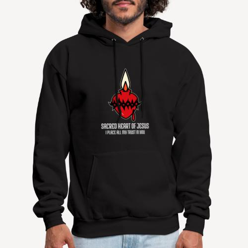 SACRED HEART OF JESUS - Men's Hoodie