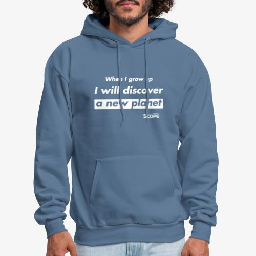 Solar System Scope : I will discover a new Planet - Men's Hoodie