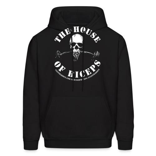HOUSEOFBICEPSLOGO3 - Men's Hoodie
