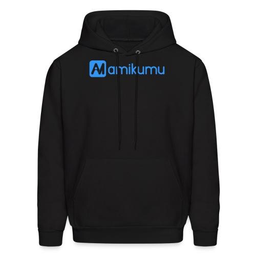 Amikumu Logo Blue - Men's Hoodie