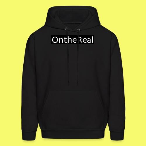 OntheReal coal - Men's Hoodie