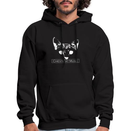 CHEVYCAT (White Logo) - Men's Hoodie