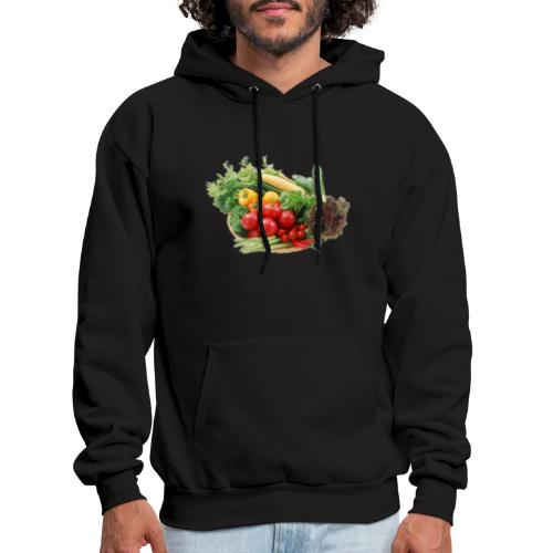 vegetable fruits - Men's Hoodie