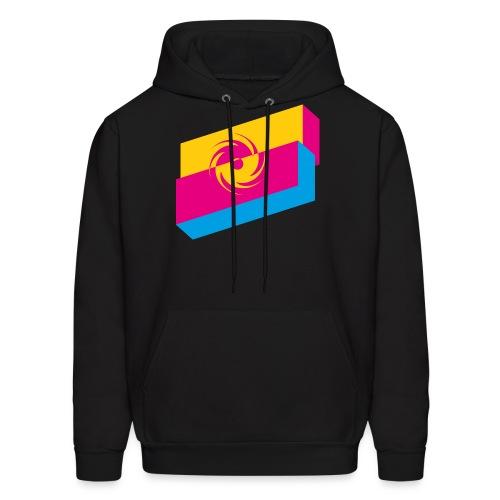 Black Hole Retro shirt - Men's Hoodie