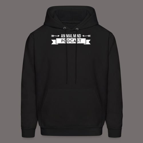 Animal Mind Podcast - Arrow Banner - Men's Hoodie