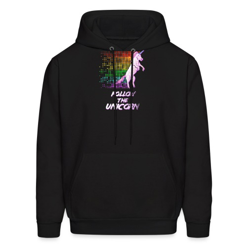 Follow The Unicorn - Men's Hoodie