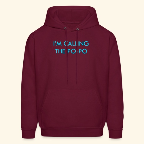 I'M CALLING THE PO-PO | ABBEY HOBBO INSPIRED - Men's Hoodie