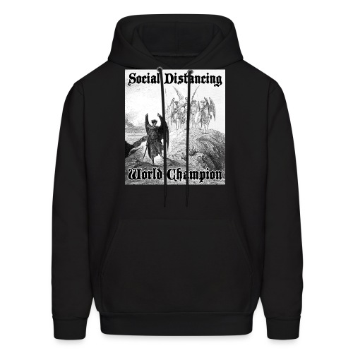 Social Distancing World Champion - Men's Hoodie