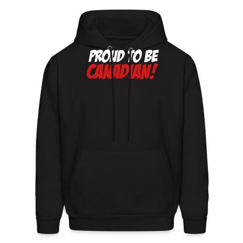 Proud Canadian - Men's Hoodie