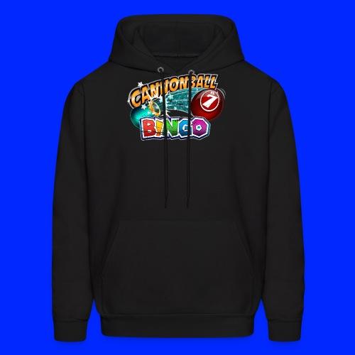 Vintage Cannonball Bingo Logo - Men's Hoodie