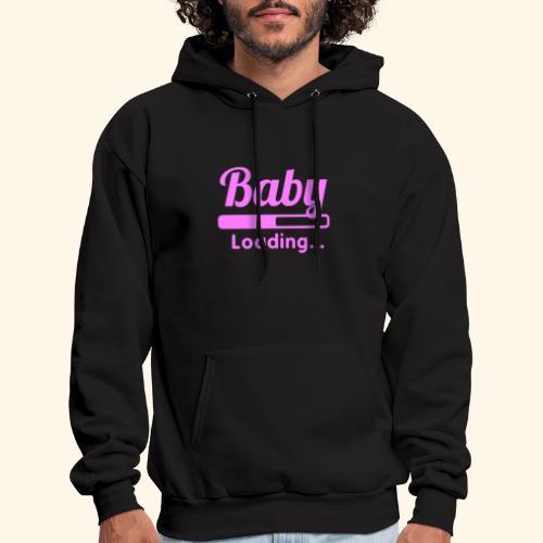 Pink Baby Loading - Men's Hoodie