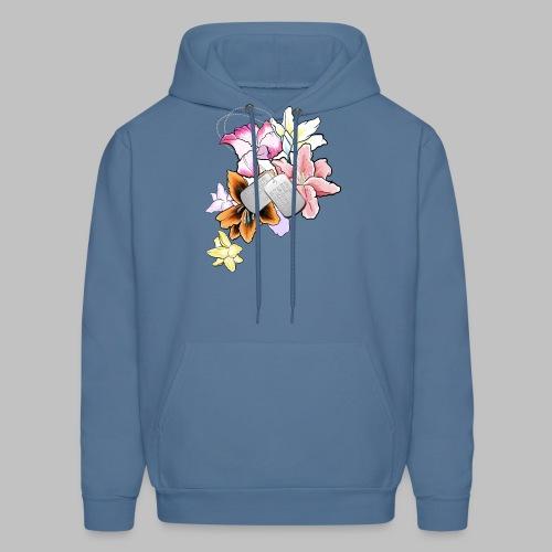Flower - Men's Hoodie