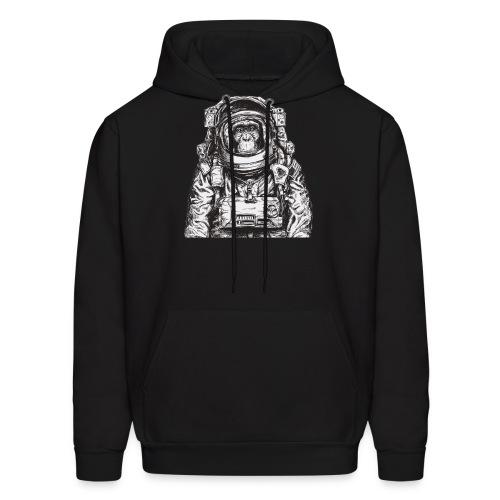 Monkey Astronaut - Men's Hoodie