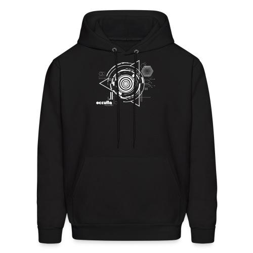 OCCULTA NEW TRIANGLE DESIGN Black and white - Men's Hoodie