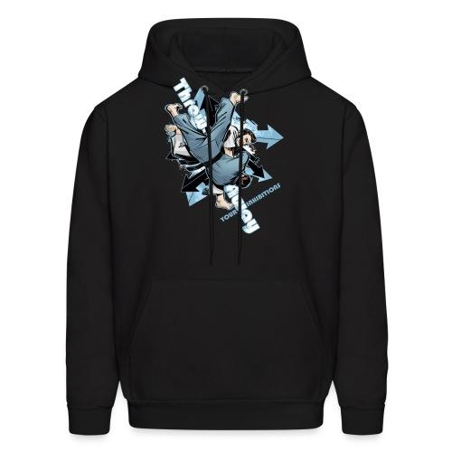 Judo Shirt - Jiu Jitsu Throw Away Your Inhibitions - Men's Hoodie