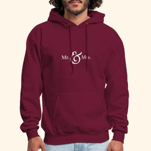 MR.& MRS . TEE SHIRT - Men's Hoodie