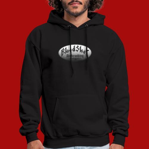 BloodShot Airbrushing Logo - Men's Hoodie