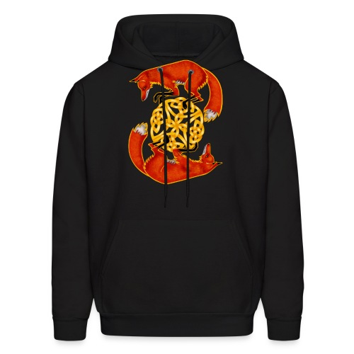 Circling Foxes - Men's Hoodie