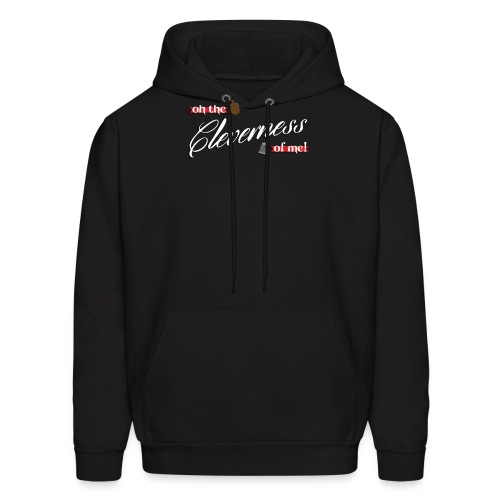 cleverness - Men's Hoodie