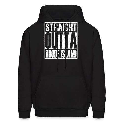 Straight Outta Rhode Island - Men's Hoodie