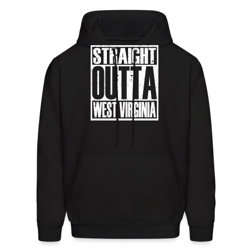 Straight Outta West Virginia - Men's Hoodie