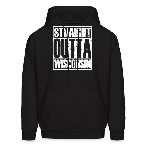 Straight Outta Wisconsin - Men's Hoodie