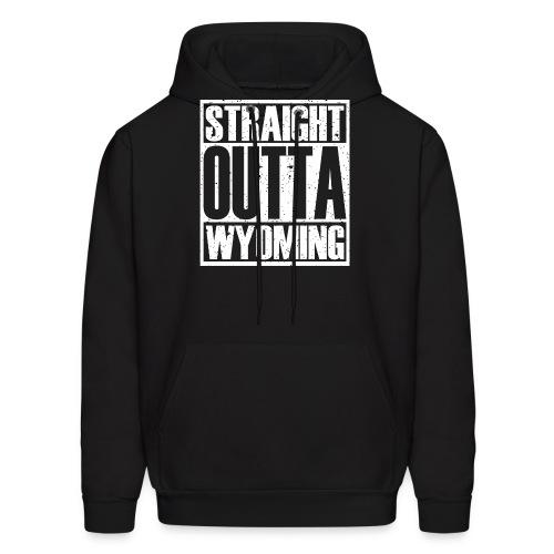 Straight Outta Wyoming - Men's Hoodie