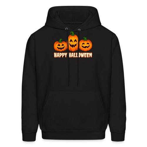 Happy Halloween Pumpkin Squad | Jack O' Lantern - Men's Hoodie