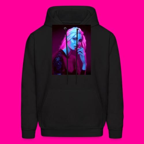 Neon Girl - Men's Hoodie