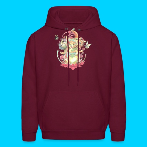 Contraption Brahma Neko - Men's Hoodie