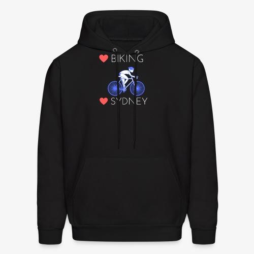 Love Biking Love Sydney tee shirts - Men's Hoodie