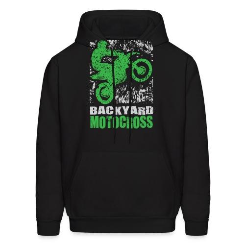 Motocross Backyard Green - Men's Hoodie