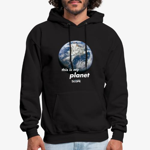 Solar System Scope : This is my Planet - Men's Hoodie