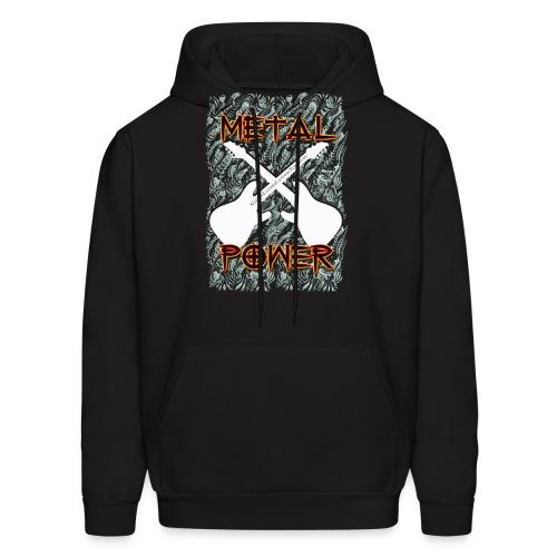 MetalPower by GuitarLoversCustomTees gif - Men's Hoodie