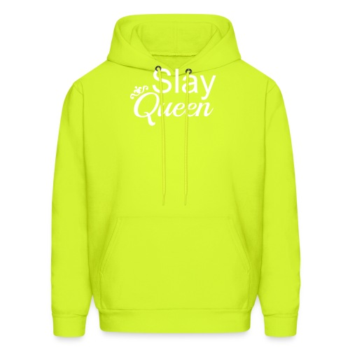 Slay My Queens - White Text - Men's Hoodie