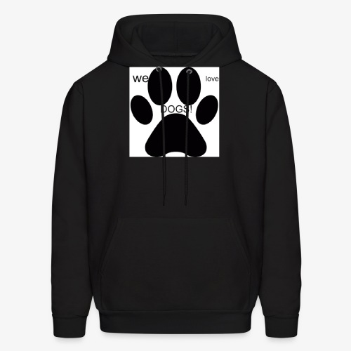 WE LOVE DOGS!!!!!!! - Men's Hoodie