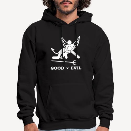 GOOD V EVIL - Men's Hoodie