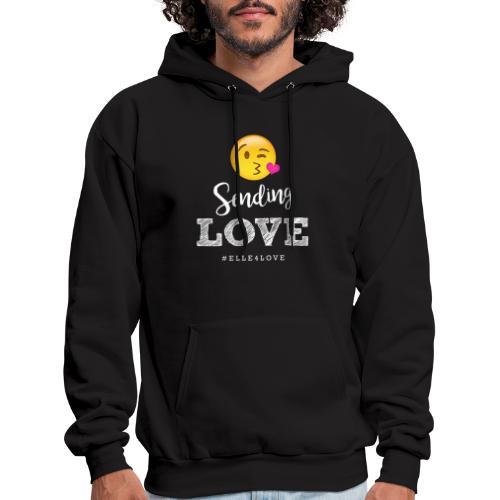 Sending Love - Men's Hoodie