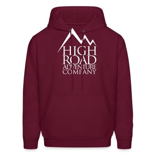 High Road Adventure Company Logo - Men's Hoodie