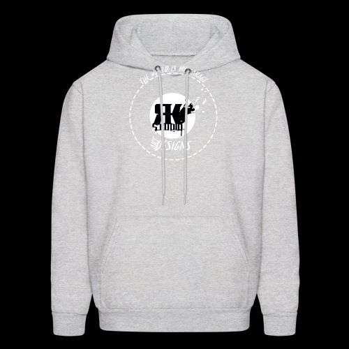 The World is My Garage - Men's Hoodie