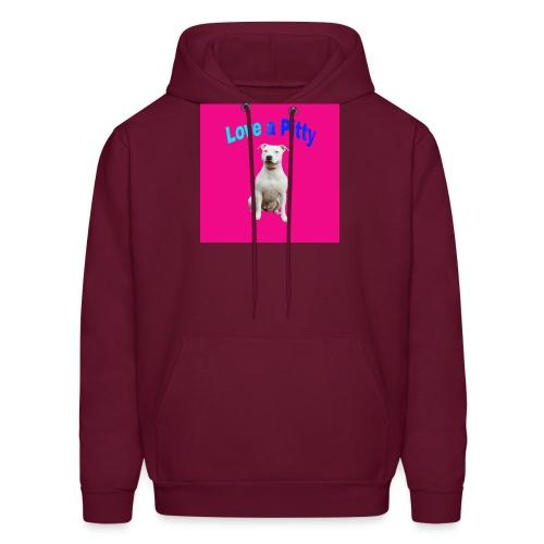 Pink Pit Bull - Men's Hoodie