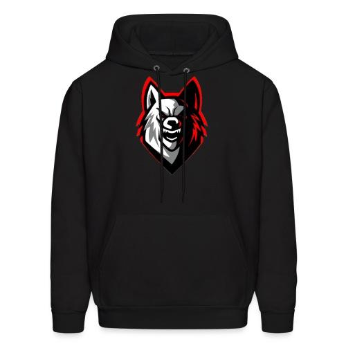 ECHO™Wolf Mascot Logo Hoodie Black - Men's Hoodie
