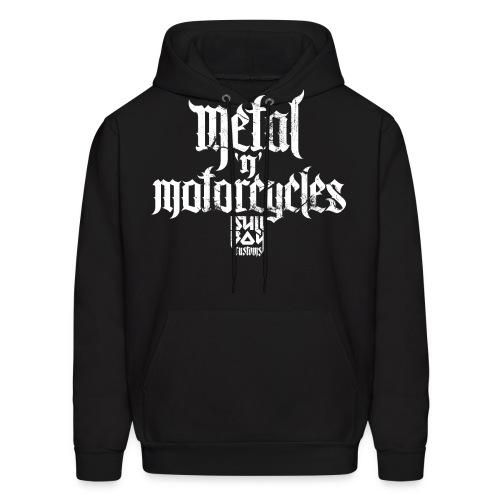 Metal 'n' Motorcycles - Men's Hoodie