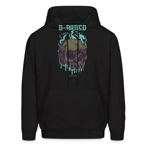 D-RaNGD Melting Skull Logo - Men's Hoodie
