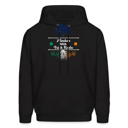 ALASKAN WITH IRISH ROOTS - Men's Hoodie