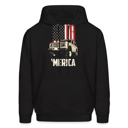 Bronco 'Merica Truck - Men's Hoodie