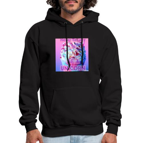 Never To Lazy To Be A Unicorn - Men's Hoodie